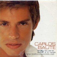 CDs de Musique: CARLOS BAUTE / ANGELITO REMIX / AMAR A 2 REMIX (CD SINGLE CARTON 2001). Lote 32873696