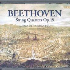 CDs de Música: BEETHOVEN, STRING QUARTETS OP.18 ( 4 CD'S). Lote 31574972