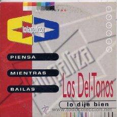 CDs de Música: LOS DEL TONOS / LO DIJE BIEN / PASI BOCAZAS (CD SINGLE CARTON 1994). Lote 31645029