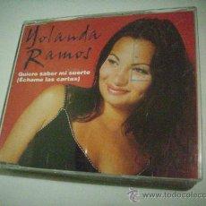 CDs de Música: YOLANDA RAMOS / QUIERO SABER MI SUERTE (ÉCHAME LAS CARTAS) (CD SINGLE 2000) PEPETO. Lote 31658103