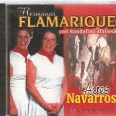 CDs de Música: HERMANAS FLAMARIQUE - AIRES NAVARROS - CD 20 CANCIONES - COMPLEAMENTE NUEVO & PRECINTADO. Lote 37461226