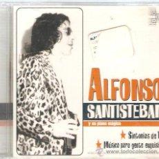 CDs de Música: ALFONSO SANTISTEBAN - DOBLE CD 26 TEMAS - COMPLEAMENTE NUEVO & PRECINTADO. Lote 31747491