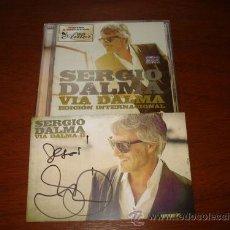 CDs de Música: SERGIO DALMA CD EDICION INTERNACIONAL + POSTAL AUTOGRAFIADA ARGENTINA 2012 VIA 2. Lote 31776836