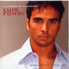 CDs de Música: LUIS FONSI CON CHRISTINA VALEMI / LA FUERZA DE MI CORAZÓN (CD SINGLE CARTÓN 2003). Lote 31813157