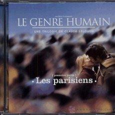 CDs de Música: LE GENRE HUMAIN: LES PARISIENS / FRANCIS LAI CD BSO. Lote 31823659