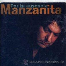 CDs de Música: MANZANITA / POR TU AUSENCIA (CD SINGLE CARTÓN 1999). Lote 31841449