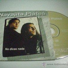 CDs de Música: NAVAJITA PLATEÁ - NO DICES NADA - CDSINGLE PEPETO RECORDS. Lote 31855632