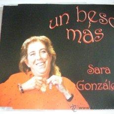 CDs de Música: SARA GONZÁLEZ / UN BESO MÁS (CD SINGLE 2001) PEPETO RECORDS. Lote 31882224
