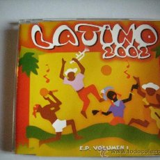 CDs de Música: LATINO 2002 E.P. VOLUMEN 1 / CD KONGA MUSIC/ PEPETO RECORDS. Lote 31910431