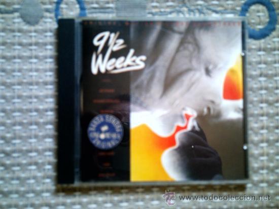 CD BSO NUEVE SEMANAS Y MEDIA (Música - CD's Bandas Sonoras)