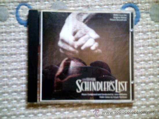 CD BSO LA LISTA DE SCHINDLER (Música - CD's Bandas Sonoras)