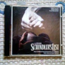 CDs de Música: CD BSO LA LISTA DE SCHINDLER. Lote 33475743