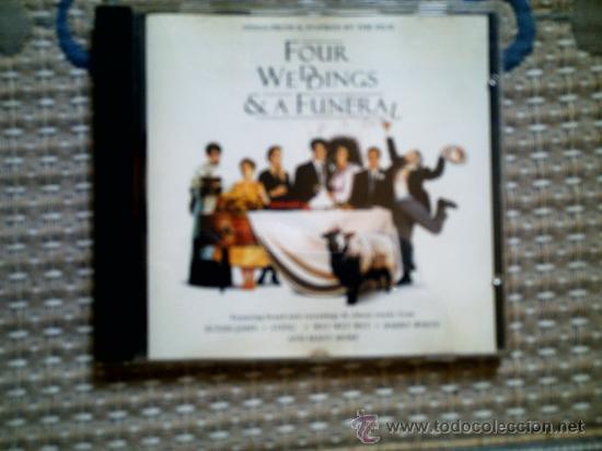 CD BSO CUATRO BODAS Y UN FUNERAL (Música - CD's Bandas Sonoras)