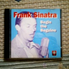 CDs de Música: CD FRANK SINATRA. BEGIN THE BEGUINE. Lote 31926778