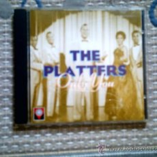 CDs de Música: CD THE PLATTERS. ONLY YOU. Lote 31926786