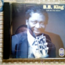 CDs de Música: CD B, B, KING. LIVE AT THE REGAL. Lote 31927197