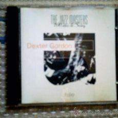CDs de Música: CD THE JAZZ MASTERS 100 AÑOS DE SWING. DEXTER GORDON. Lote 31927233