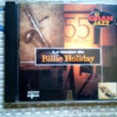 CDs de Música: CD LO MEJOR DE BILLIE HOLIDAY. Lote 31927256