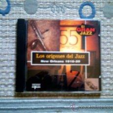 CDs de Música: CD LOS ORIGENES DEL JAZZ. NEW ORLEANS 1918-29. Lote 31927273