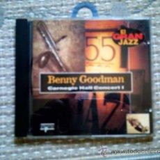 CDs de Música: CD BENNY GOODMAN. CARNEGIE HALL CONCERT I. Lote 31927284