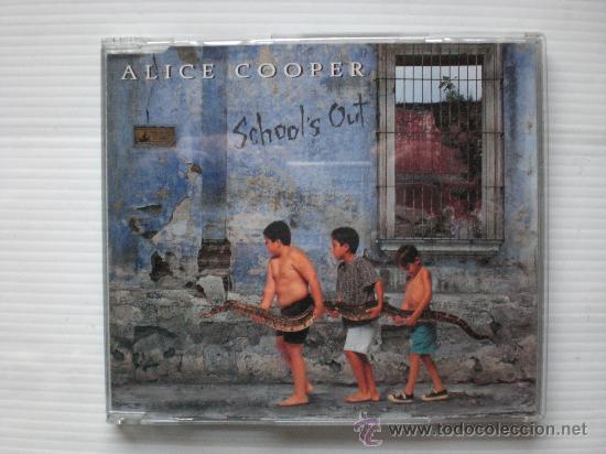 ALICE COOPER.- SCHOOLS OUT.- SINGLE CD 2 TEMAS RARO Y UNICO (Música - CD's Rock)