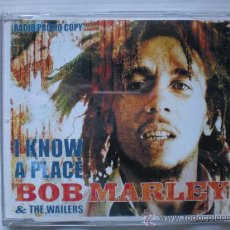 CDs de Música: BOB MARLEY.- I KNOW A PLACE. SINGLE CD 3 TEMAS. PROMOCIONAL NUEVO. Lote 31931411