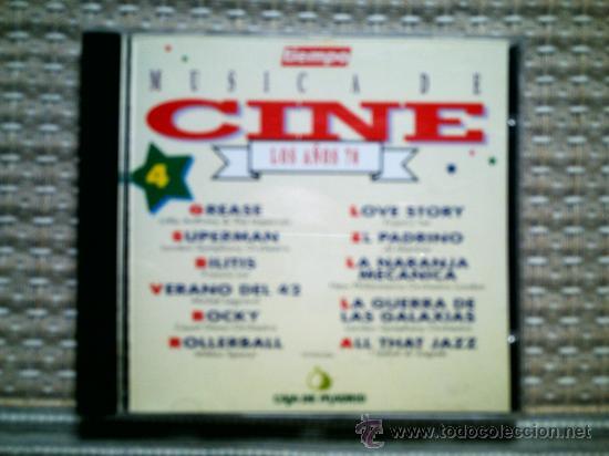 CD MUSICA DE CINE. LOS AÑOS 70 (Música - CD's Bandas Sonoras)