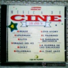 CDs de Música: CD MUSICA DE CINE. LOS AÑOS 70. Lote 31952755