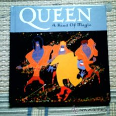 CDs de Música: CD QUEEN. A KIND OF MAGIC (DISCO + LIBRO). Lote 31952874