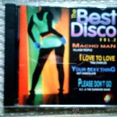 CDs de Música: CD THE BEST DISCO VOL 2. Lote 31952964