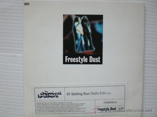 CHEMINAL BROTHERS. FREESTYLE DUST, SINGLE CD, PROMOCIONAL NUEVO (Música - CD's Rock)