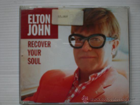 ELTON JOHN. RECOVER YOUR SOUL. SINGLE CD. SEMINUEVO (Música - CD's Rock)