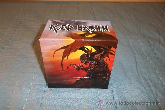 ICED EARTH - SLAVE TO THE DARK - BOX CD 14 CD +1 DVD MINI LP (Música - CD's Heavy Metal)
