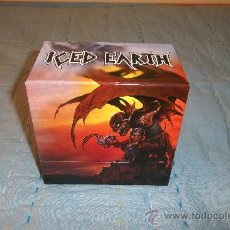 CDs de Música: ICED EARTH - SLAVE TO THE DARK - BOX CD 14 CD +1 DVD MINI LP. Lote 31959561