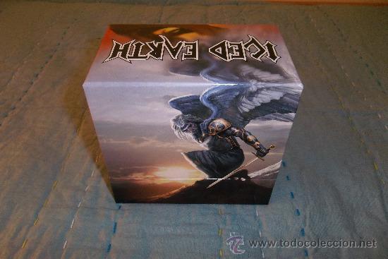 CDs de Música: ICED EARTH - Slave To The Dark - BOX CD 14 CD +1 DVD MINI LP - Foto 2 - 31959561