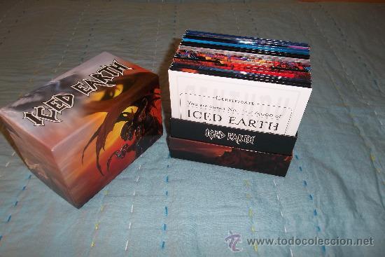 CDs de Música: ICED EARTH - Slave To The Dark - BOX CD 14 CD +1 DVD MINI LP - Foto 3 - 31959561