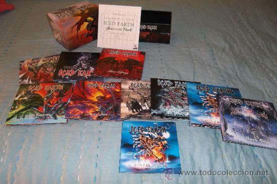 CDs de Música: ICED EARTH - Slave To The Dark - BOX CD 14 CD +1 DVD MINI LP - Foto 5 - 31959561