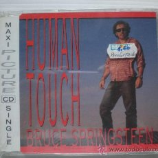 CDs de Música: BRUCE SPRINGSTEEN. HUMAN TOUCH. SENGLE CD PICTURE 3 TEMAS. EDIT. SPAIN PRECINTADO. Lote 31974035