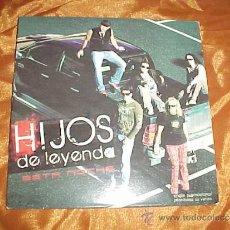 CDs de Música: HIJOS DE LEYENDA. ESTA NOCHE. CD PROMOCIONAL. FODS RECORDS 2008. Lote 31979125