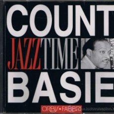CDs de Música: COUNT BASIE - COLECCIÓN JAZZ TIME - ORBIS . FABBRI - 1993 - VER FOTO ADICIONAL. Lote 31985517
