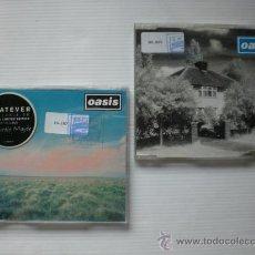 CDs de Música: OASIS. LIVE FOREVER + 4 TEMAS WHATEVER + 3 TEMAS LOTE 2 CDS. SEMINUEVOS. Lote 31998838