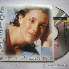 CDs de Música: SOLEDAD / QUIERO ABRAZARTE TANTO - TREN DEL CIELO (CD SINGLE 2002) PEPETO. Lote 32014161
