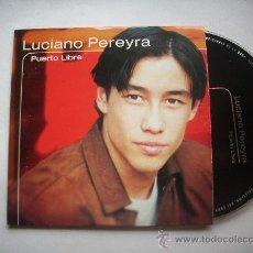 CDs de Música: LUCIANO PEREYRA / PUERTO LIBRE (CD SINGLE 2000) PEPETO RECORDS. Lote 32015680