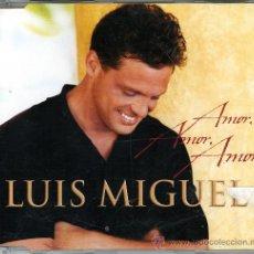 CDs de Música: PROMO CD. LUIS MIGUEL. AMOR, AMOR, AMOR, . Lote 32017044