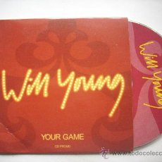 CDs de Música: WIM YOUNG /YOUR GAME /CD SINGLE PROMO 2004/ PEPETO RECORDS. Lote 32047083
