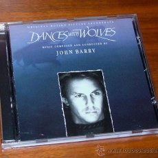 CDs de Música: CD BANDA SONORA 'BAILANDO CON LOBOS' (JOHN BARRY). Lote 32068010