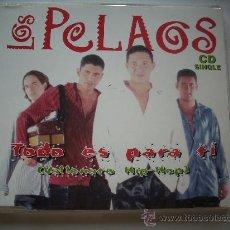 CDs de Música: LOS PELAOS TODO ES PARA TI(VALLENATO HIP-HOP) + OTRO ADIOS /CD SINGLE PEPETO. Lote 32131729