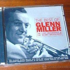 CDs de Música: CD 'THE BEST OF GLENN MILLER. THE LOST RECORDINGS & THE SECRET BROADCASTS' (GLENN MILLER). Lote 32097606