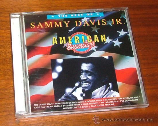 CD 'THE BEST OF SAMMY DAVIS JR. AMERICAN SUPERSTARS' (SAMMY DAVIS JR.) (Música - CD's Melódica )