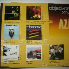 CDs de Música: OBJETIVOS XIV-TAKO + REBELDES + JUAN CUERVO... CD ALBUM EDITADO POR AZ EN 1999 PROMOCIONAL PEPETO. Lote 32102197